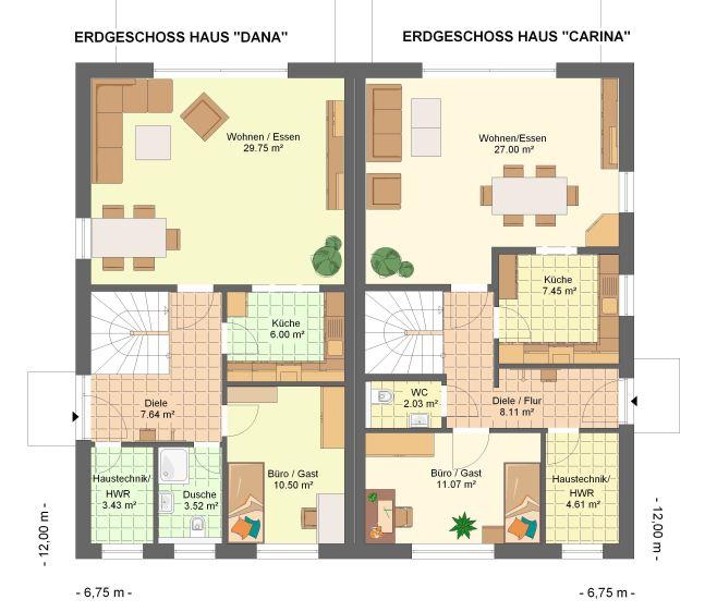 Kowalski haus dana carina 175 for Beste grundrisse einfamilienhaus